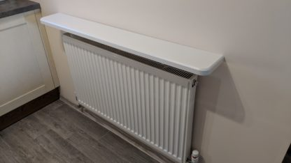 comfee.co.uk radiator shelf white ash